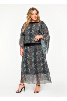 """Платье """"ЛаТэ"""" 1618901 (Мультиколор)"""