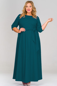 Платье 1518407 ЛаТэ (Изумрудный)