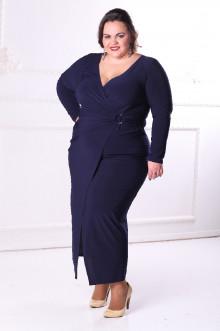 Платье 088602 ЛаТэ (Темно-синий)