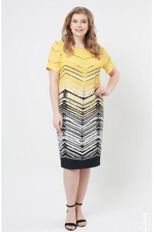 """Платье """"Лина"""" 5276 (Желтый)"""