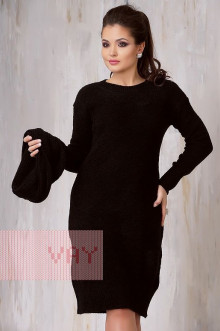 Платье женское 2218 Фемина (Черный)