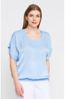 """Блуза """"Лина""""4140 (Голубой)"""