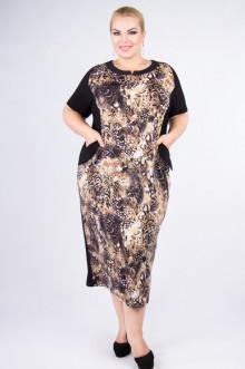 """Платье """"Артесса"""" PP14907SNA19 (Черный)"""